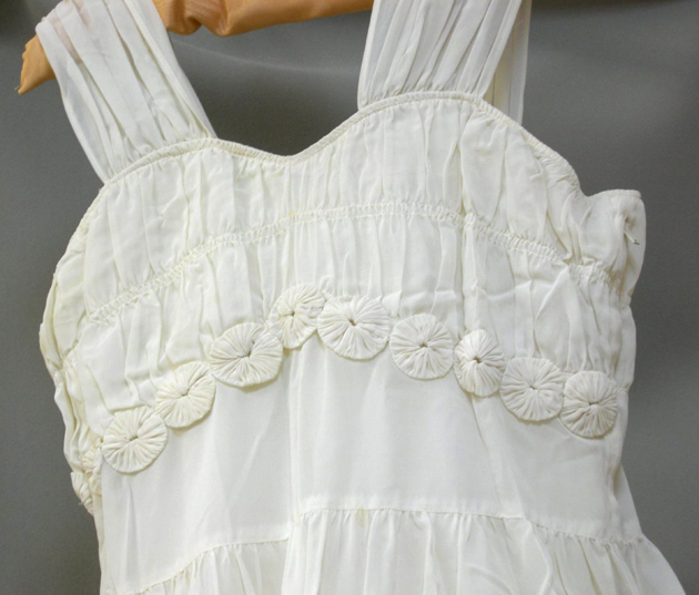 bodice of wedding dress