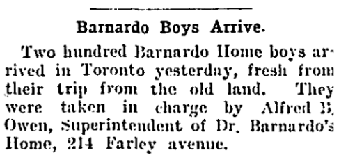 Barnardo Boys Arrive Cropped
