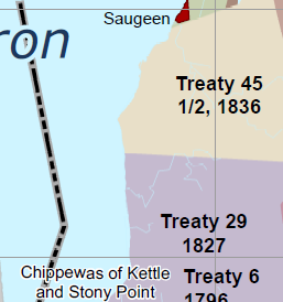 Treaties & Huron County