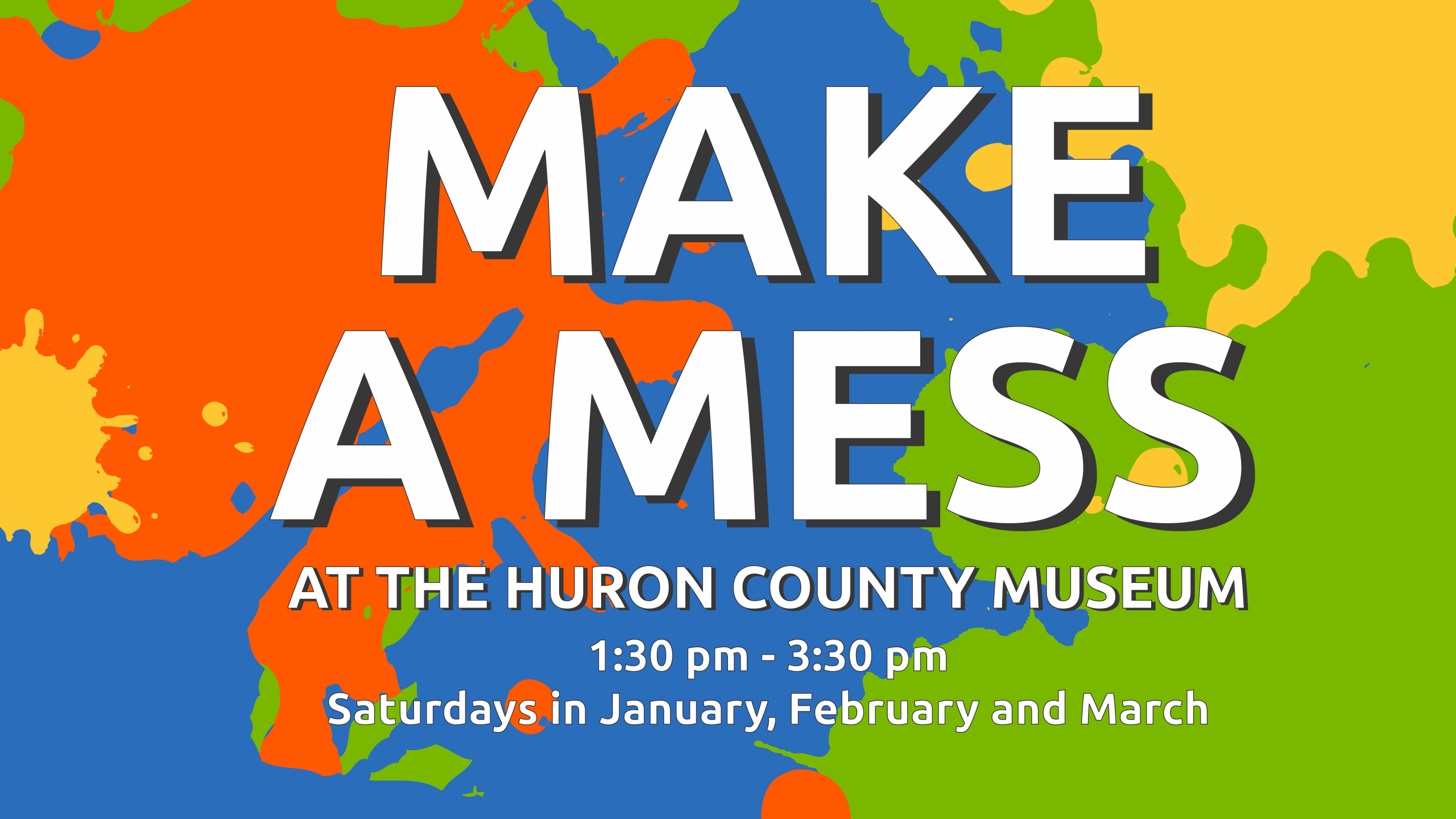 CANCELLED: Make a Mess at the Museum