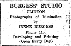 'Photographs of Distinction': The Career of Photographer Irene Burgess