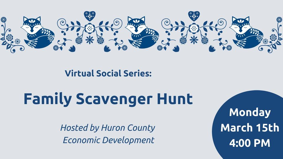 Virtual Social Series: Family Scavenger Hunt