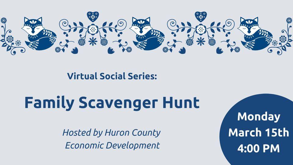 Virtual Social Series: Family Scavenger Hunt