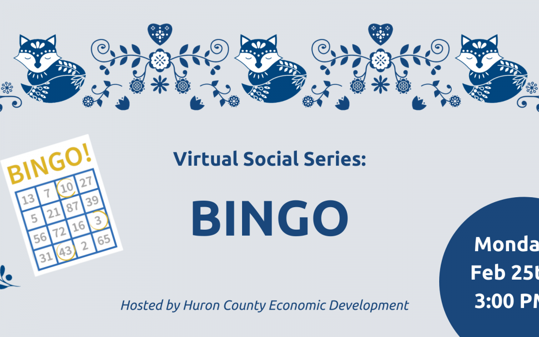Virtual Social Series: Bingo!