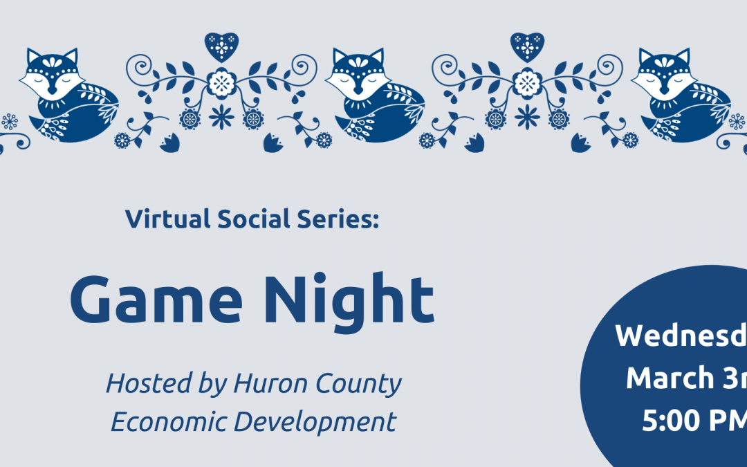Virtual Social Series: Game Night