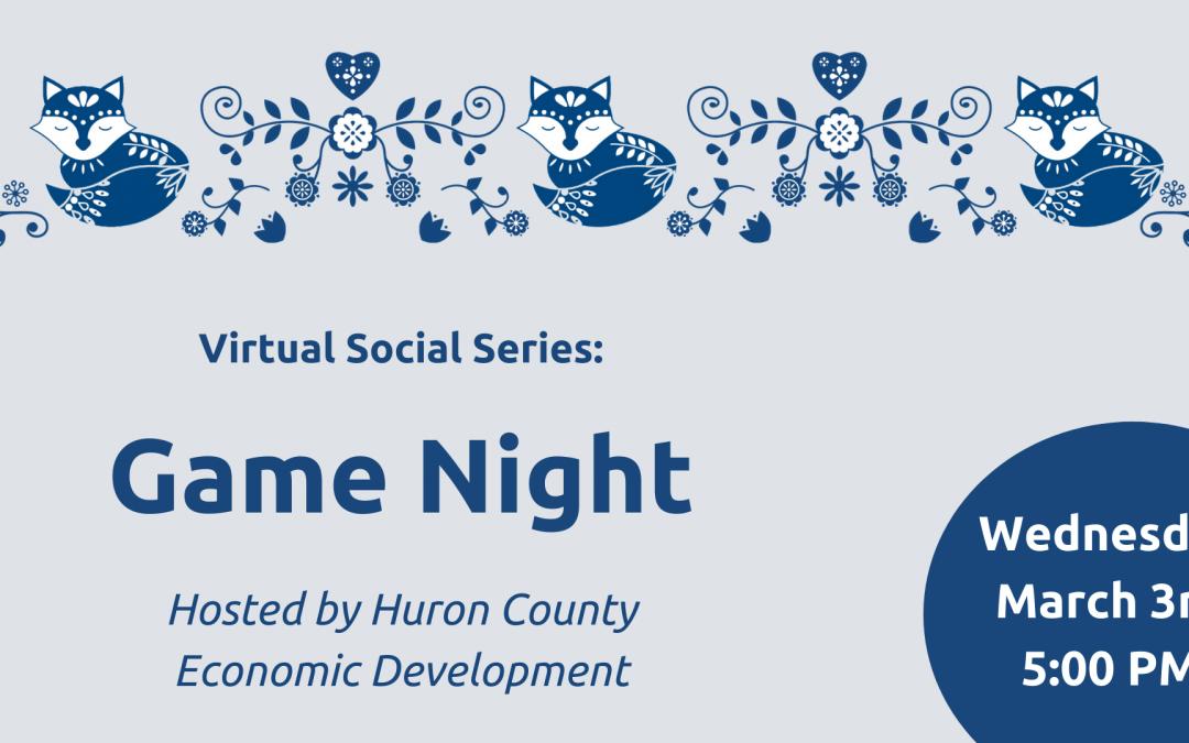 Virtual Social Series: Game Night
