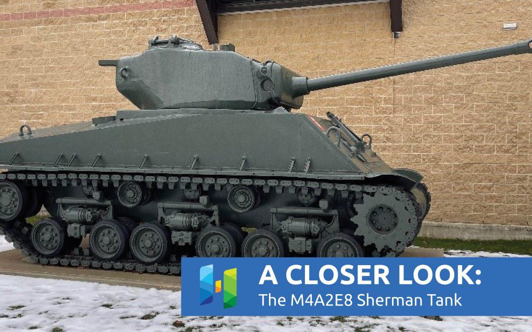The Huron County Museum's M4A2E8 Sherman Tank