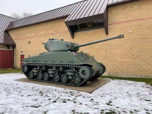 The M4A2E8 Sherman Tank