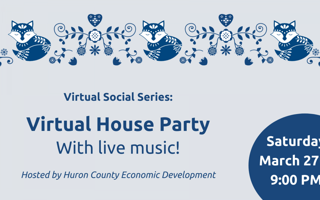 Virtual Social Series: Virtual House Party with Live Music