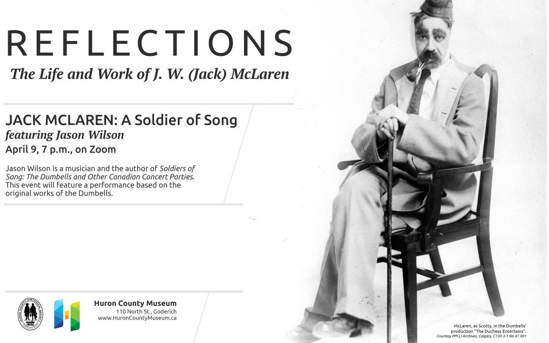 Jack McLaren: A Soldier of Song with Jason Wilson