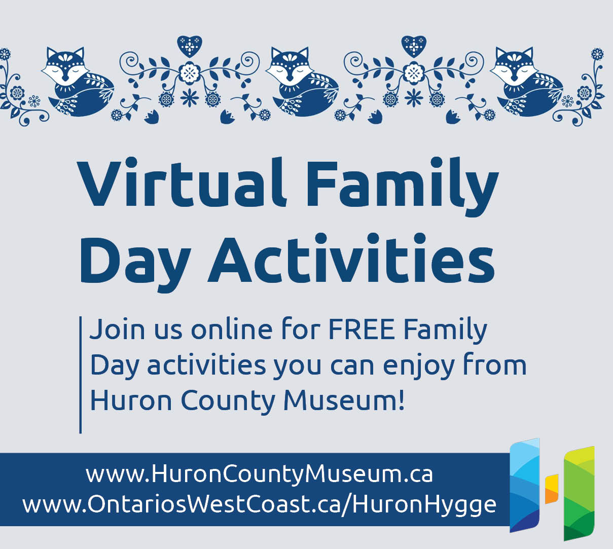 Virtual Family Day Activities from the Huron County Museum