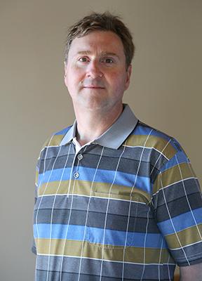 Huron County Museum Archivist Michael Molnar