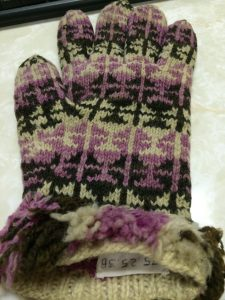 Glove from the Huron County Museum textile collection