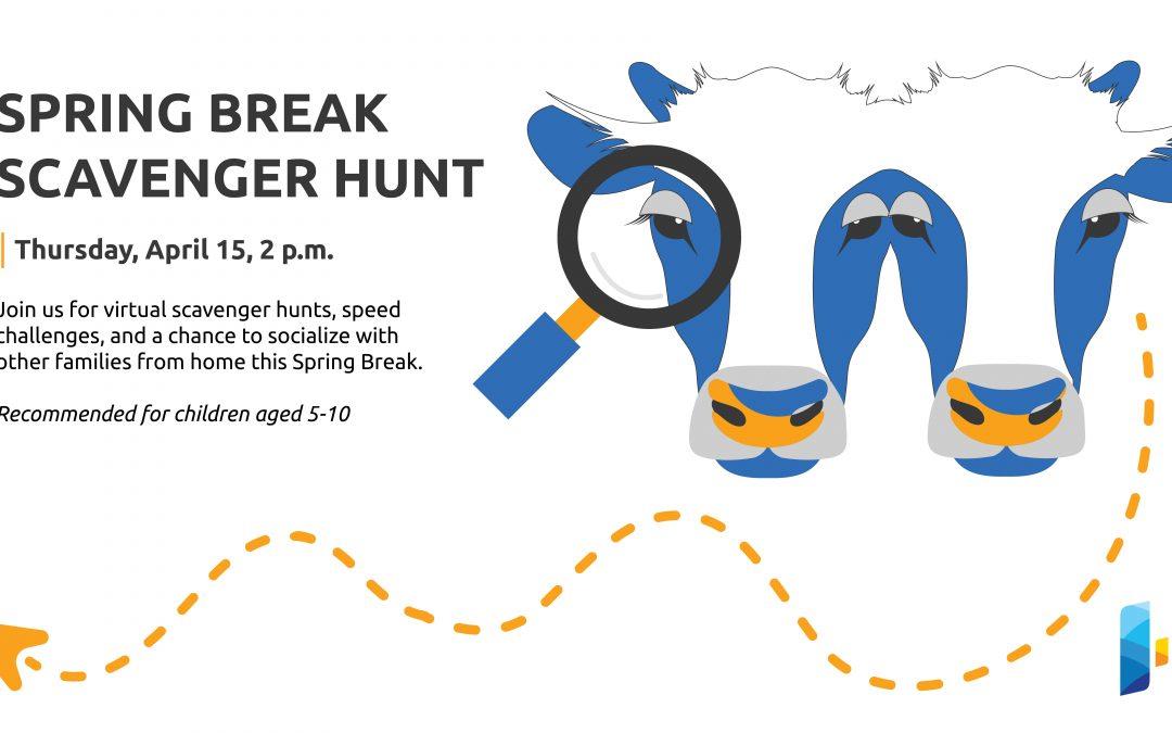 Virtual Spring Break Scavenger Hunt