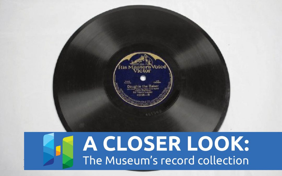 A Closer Look: The Museum's Record Collection