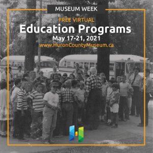 Museum Week Free Education Programs