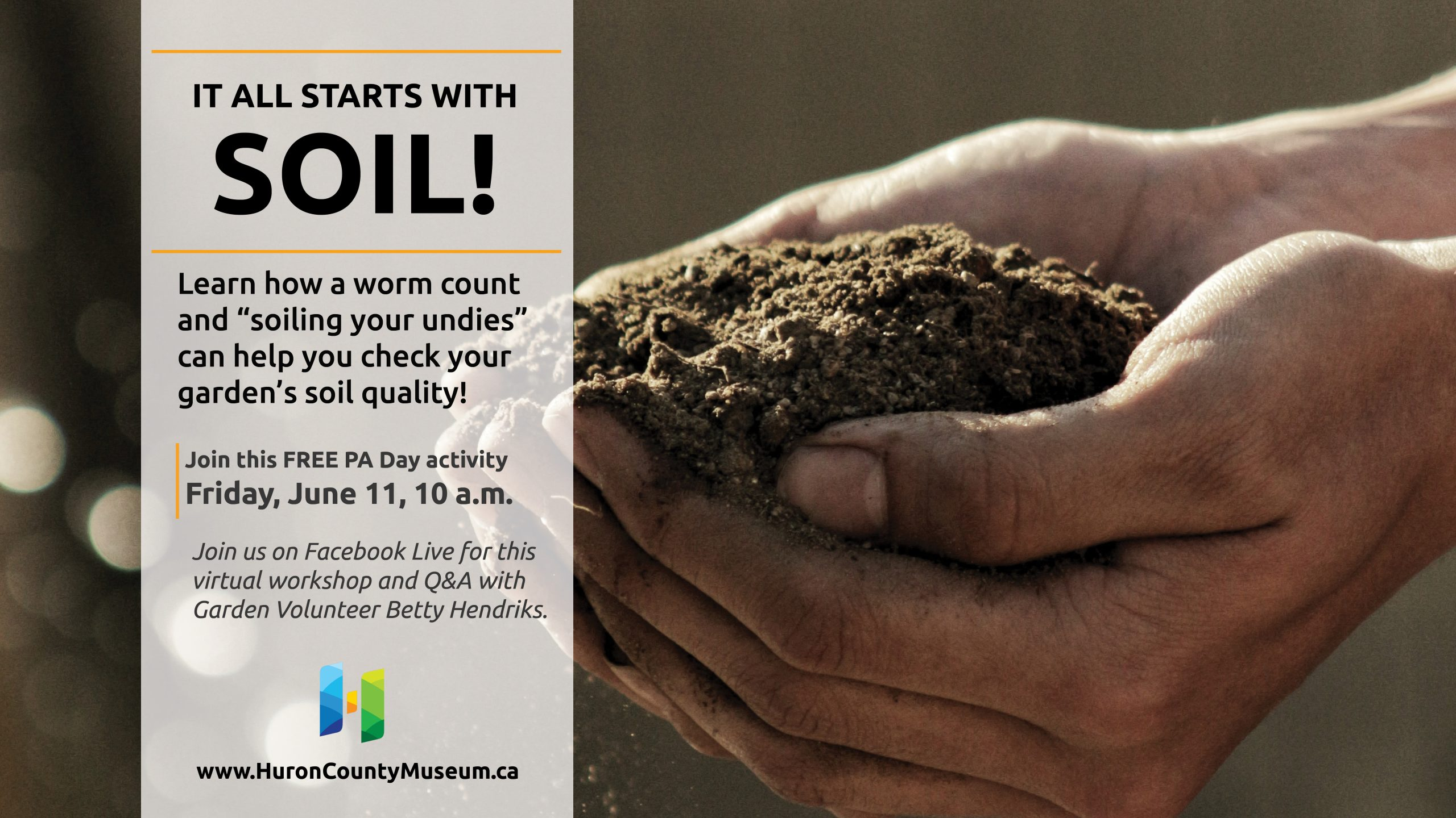 It all starts with soil free workshop