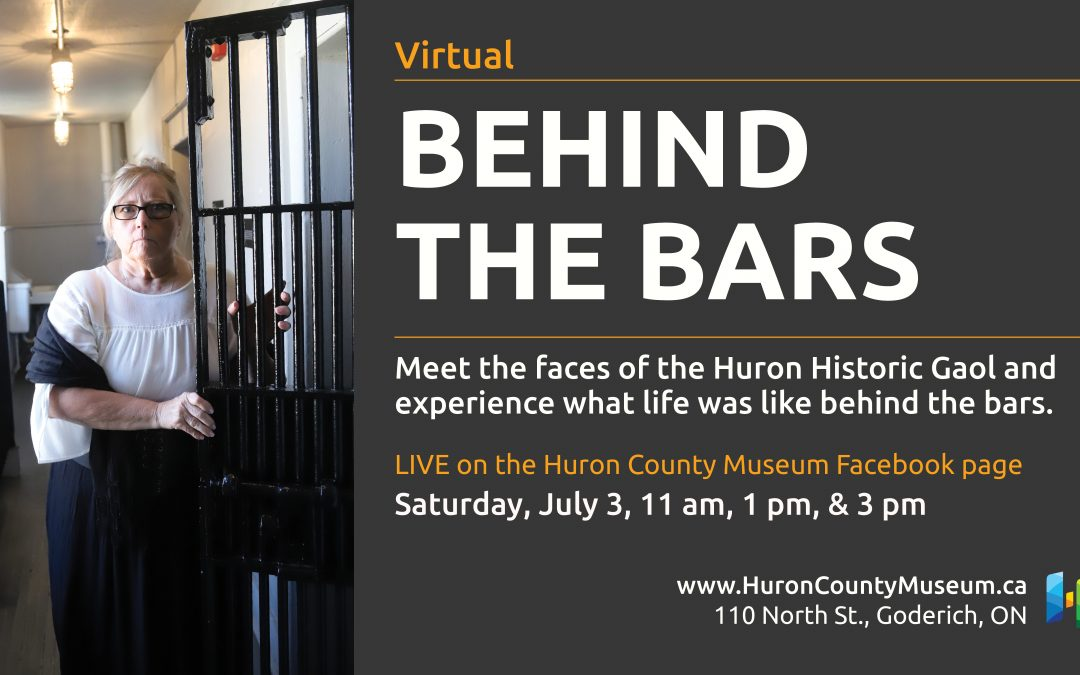 Behind the Bars: Live Virtual Q & A for Historic Places Day