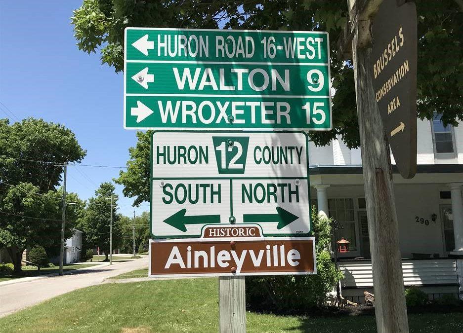 Historic Huron Settlements: Ainleyville