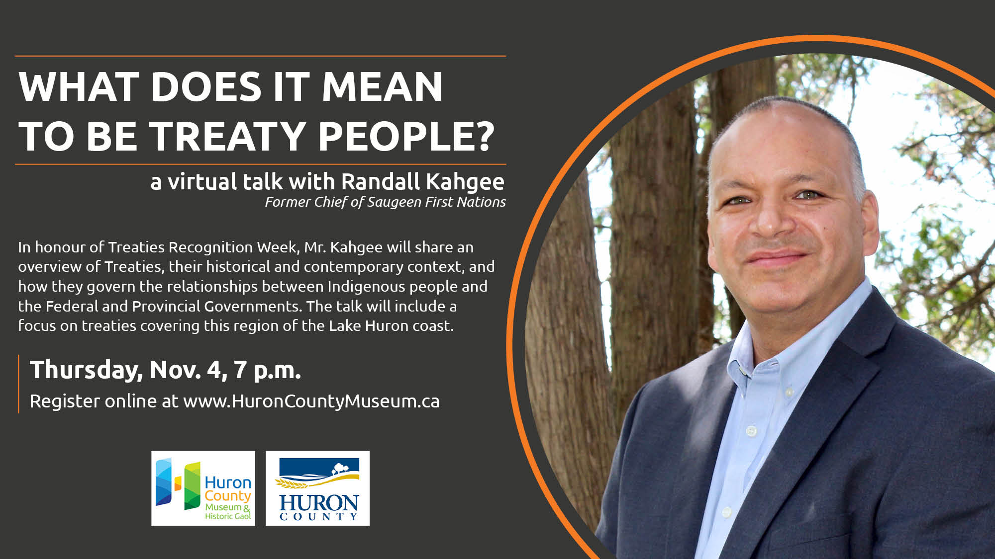 What does it mean to be treaty people? Virtual Event