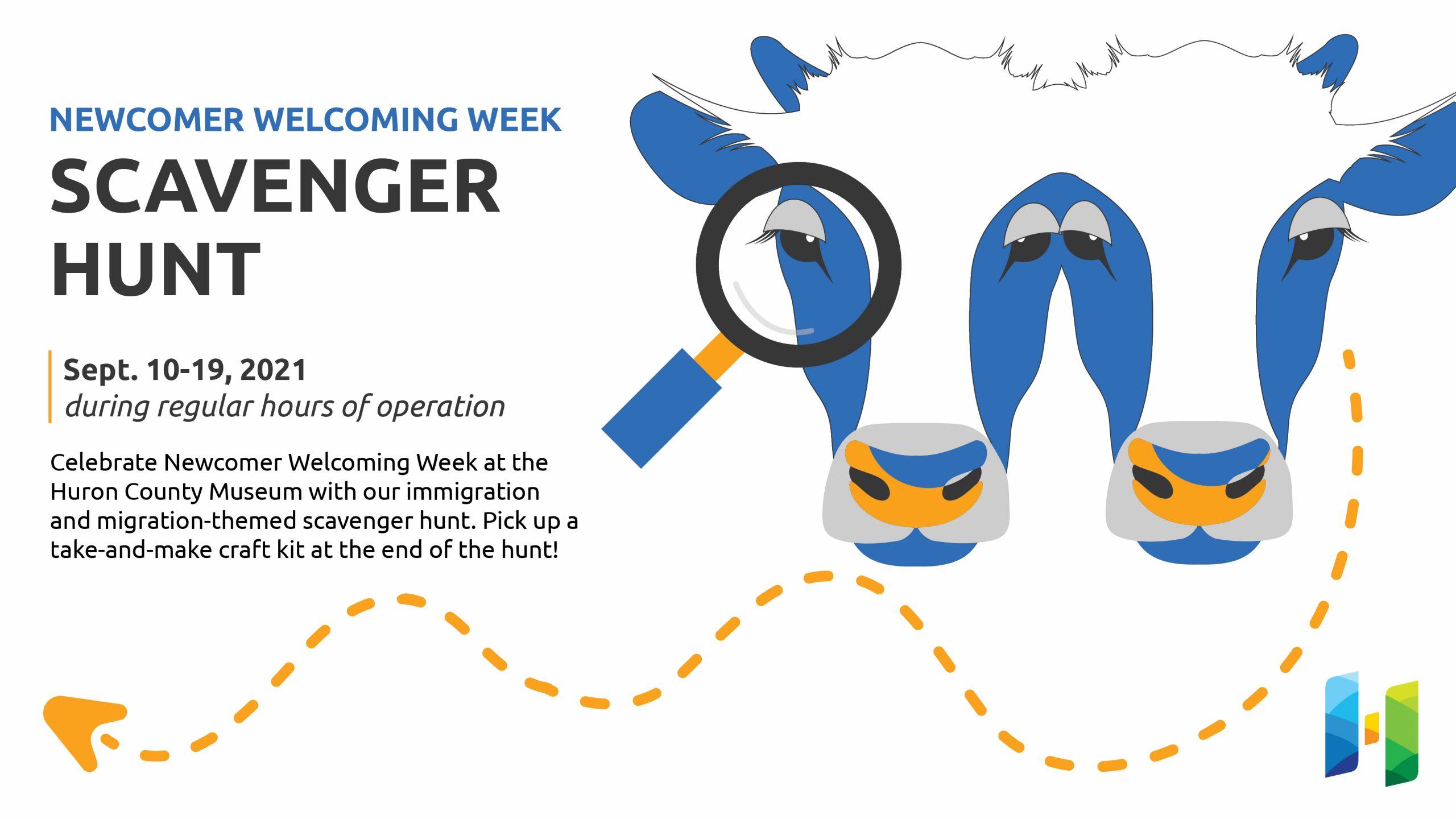 Newcomer Welcoming Week Scavenger Hunt